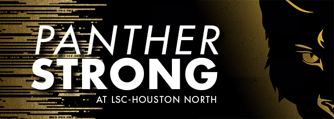 Panther Strong at LSC-Houston North Decorative Banner
