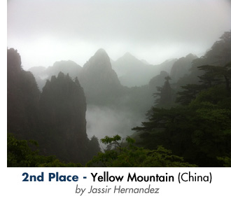 2nd Place - Yellow Mountain - by Jassir Hernandez