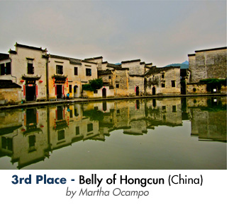 3rd Place - Belly of Hongcun - by Martha Ocampo