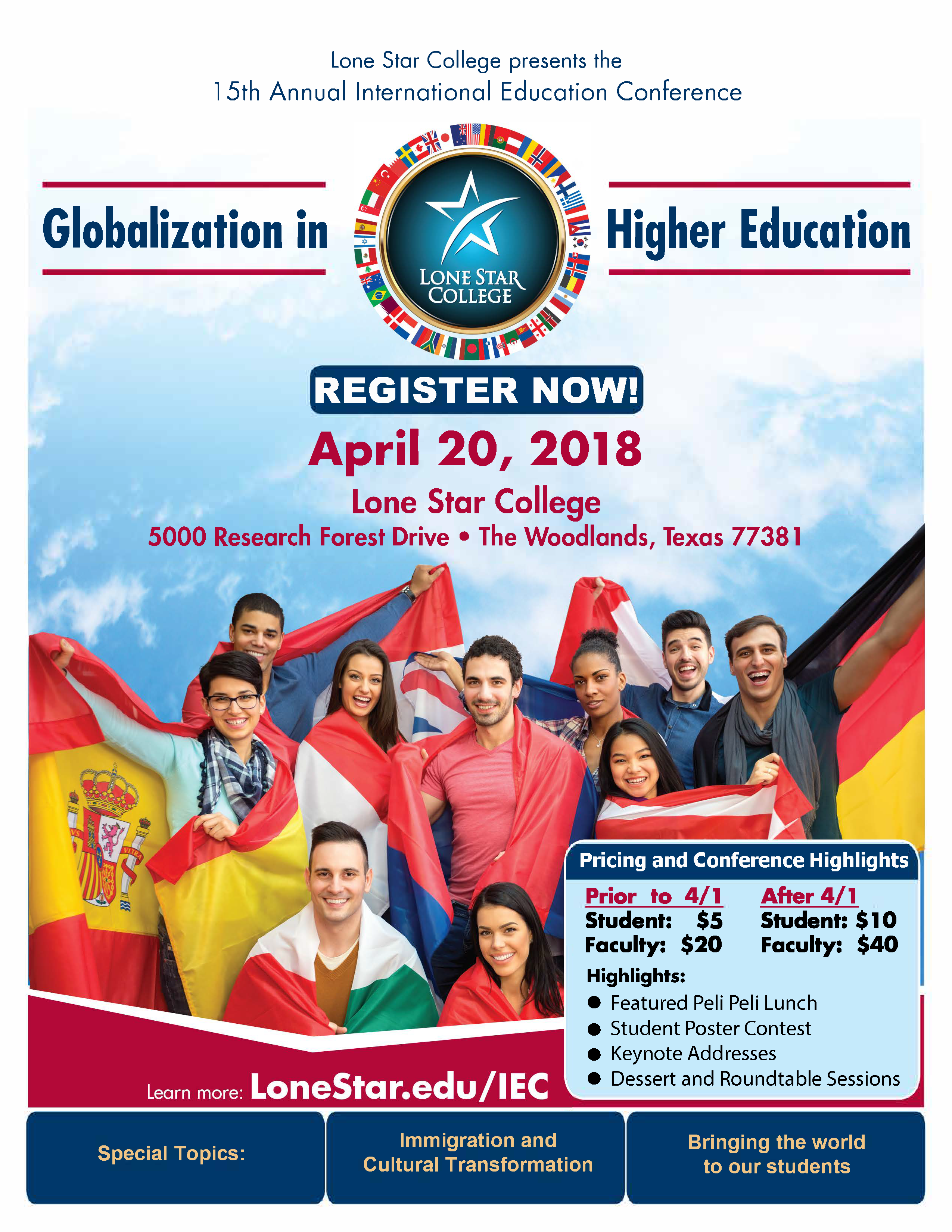 lonestaredu International Education Conference