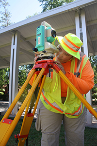 Land Surveying student