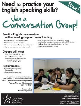 Join a Conversation Group!