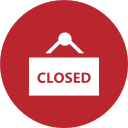 Closed notice
