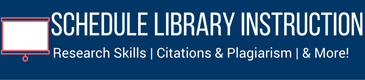 Request a class with a librarian to cover information literacy topics!