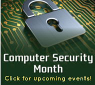 Computer Security Month events