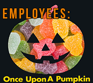 Employees: Pumpkin contest theme - Sweets & Treats