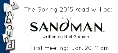 Unbound Book Club next book: Gaiman's The Sandman