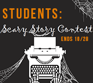 Students: Scary Story Contest - 3 lines or less