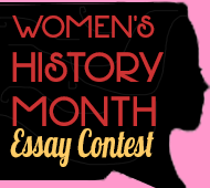 2015 Women's History Month Essay Contest