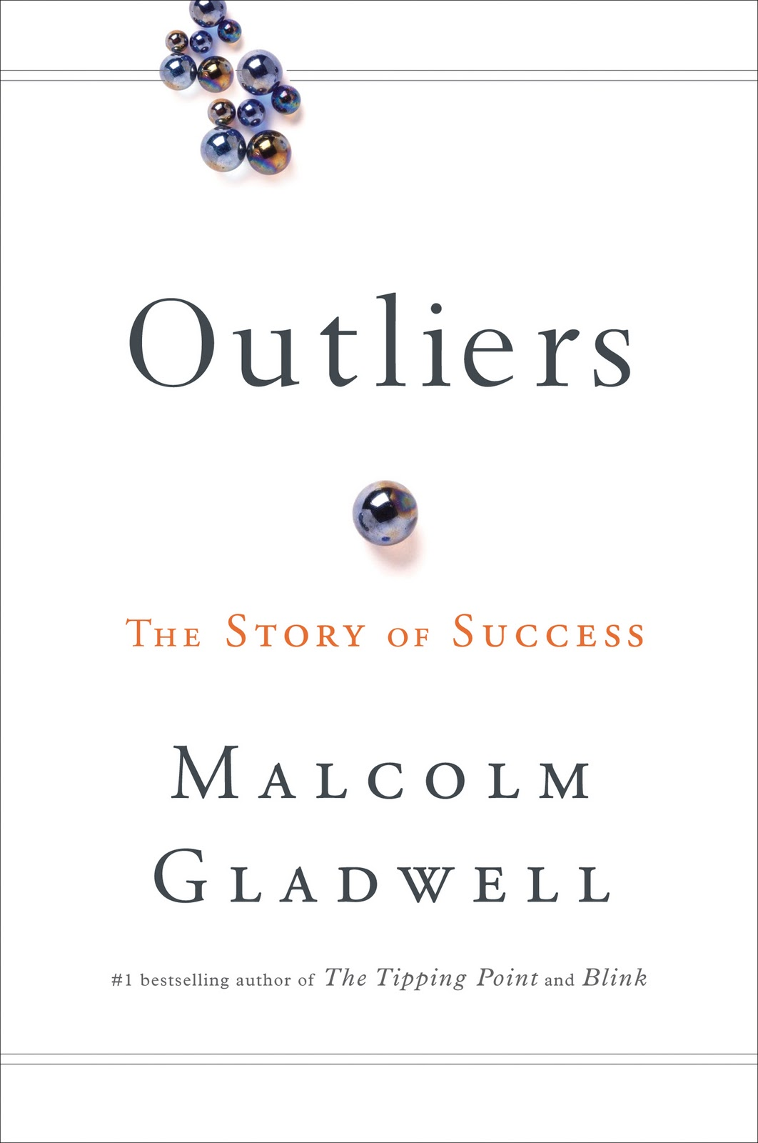 Gladwell Outliers book cover