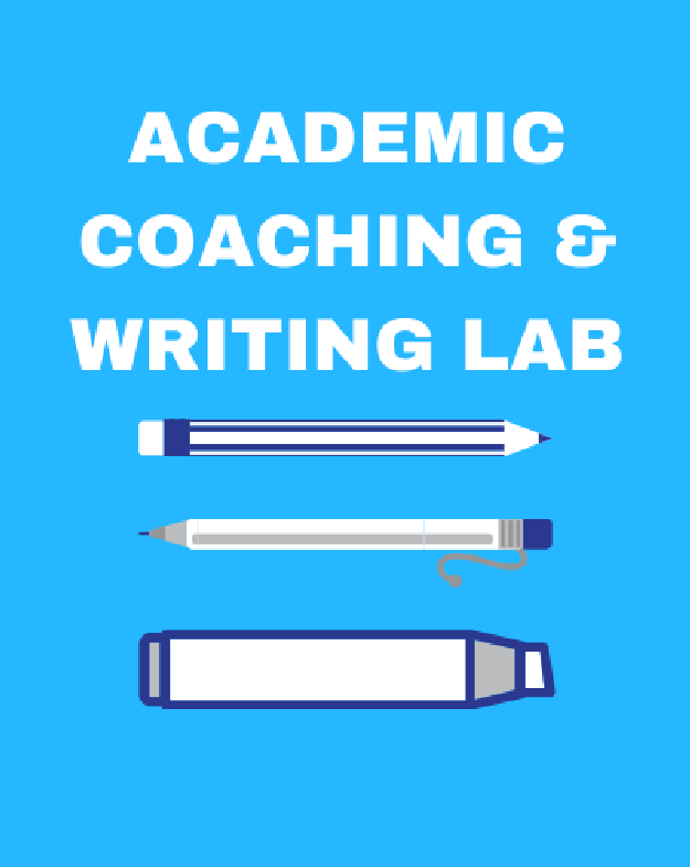 Academic Coaching & Writing Lab - Click for main page