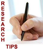 research tips photo