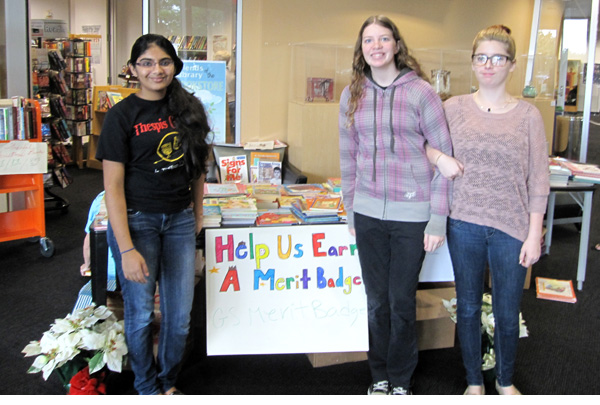 Girl Scout Fall Book Drive