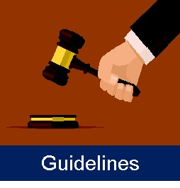 link to the library guidelines page