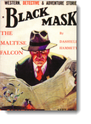 cover of the Black Mask magazine