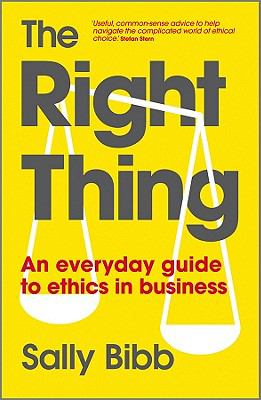 Book cover: The Right Thing by Sally Bibb