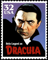 Bela Lugosi as Dracula - stamp