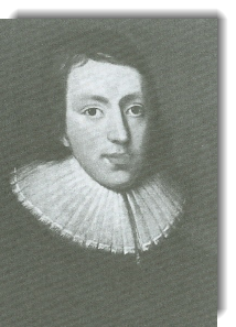 John Milton as young man