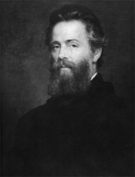 Herman Melville 1870, oil painting by Joseph Eaton