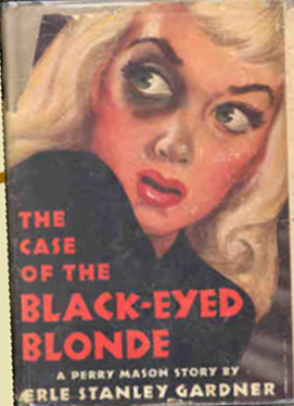 cover image from the Case of the Black-eyed Blonde