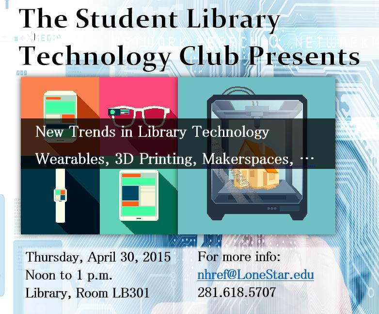 Image Student Library Technology Club Workshop