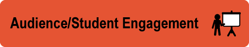 Audience and Student Engagement button
