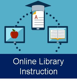 link to the online library instruction page