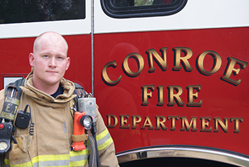 while on leave from the marine corps brandon keilsers began researching on what it would take to become a firefighter keilsers arranged to meet with chief