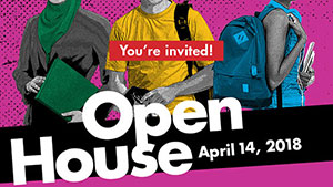 You're invited to the April 14 Open House at LSC-CyFair