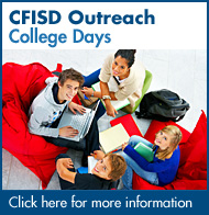 CFISD Outreach - College Days