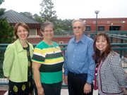 Mary Ann Mendoza, DeAlva Engelhardt, Bill Hare, Amy Cooper