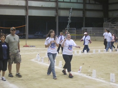 Members walking at Relay for Life