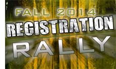 "Fall 2014 ""Call of Duty"" Registration Rally"