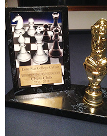 Chess Club trophy