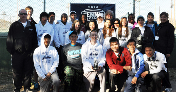 Tennis Team group photo 2013