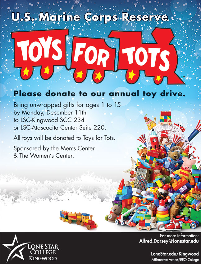 Toys For Tots Mission Statement : Men s center