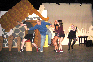 Students performing Frog and Toad
