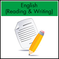 English (Reading & Writing)