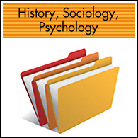 History, Sociology, Psychology