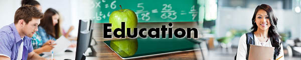 Education web header
