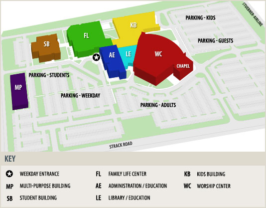 Worship Center Layout