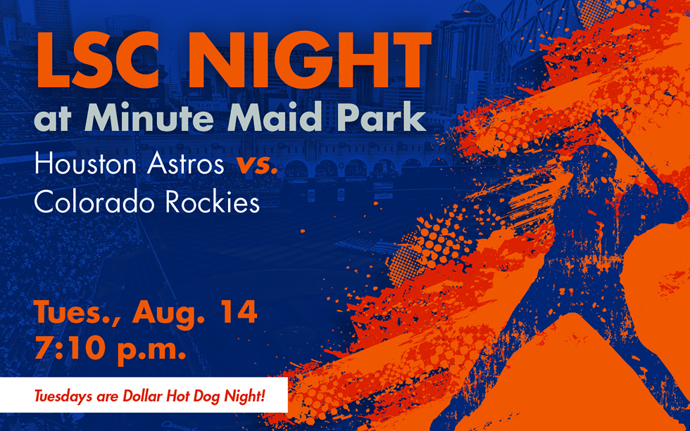 LSC nigh at Minute Maid Park. Houston Astros vs Colorado Rockies
