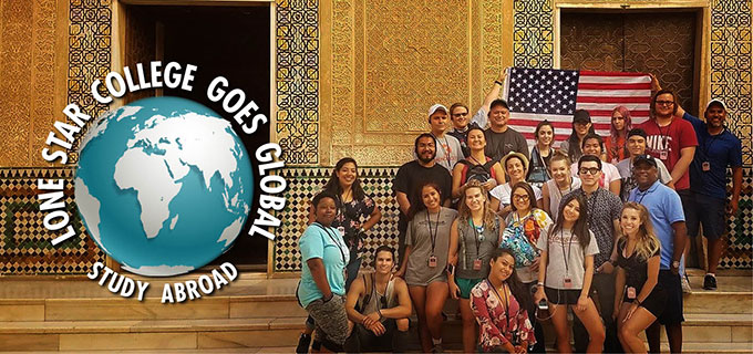 Photo of Study Abroad Students