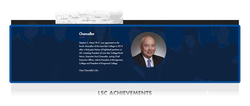 screenshot of president section