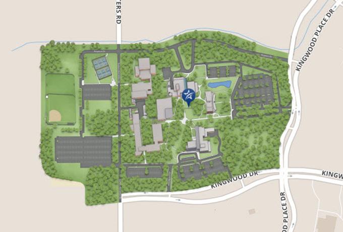 LSC Kingwood Maps
