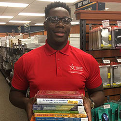 photo of Student with Books