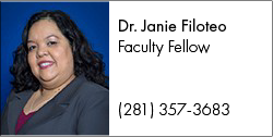 Contact COTE Faculty Fellow Dr. Janie Filoteo at Janie.Filoteo@lonestar.edu