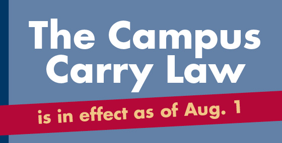 Campus Carry Aug. 1