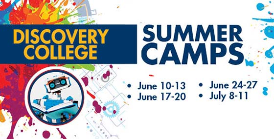 Discovery College Youth Summer Camps