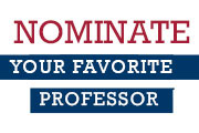 2017 Faculty Excellence Award Online Nomination